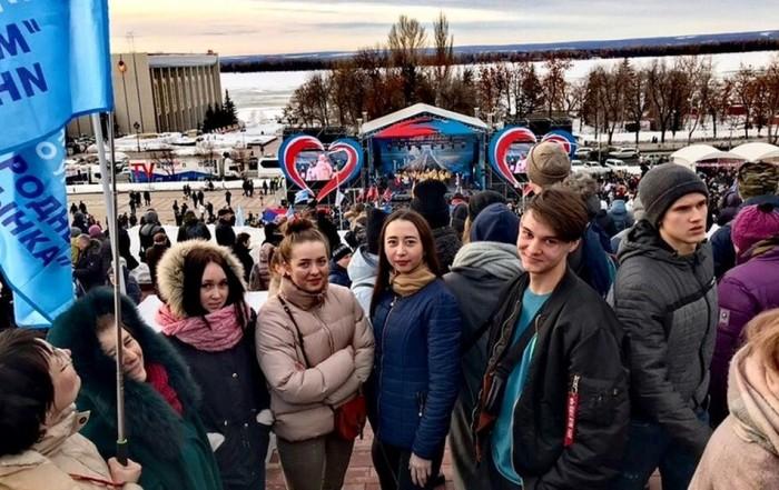 Студенты Университета «МИР» стали участниками общественной акции «Соединяя сердца»